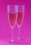Glazen van Champagne Royalty-vrije Stock Fotografie