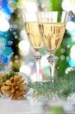 Glazen van wijnstok. Royalty-vrije Stock Foto