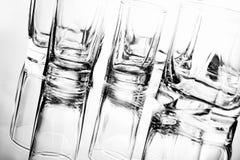 Glazen voor cocktail Stock Foto's