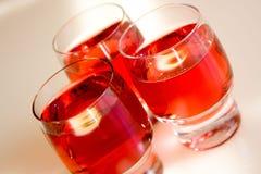Glazen Wijn Stock Afbeelding