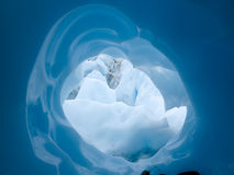 Glazial- Durchführung Alaska lizenzfreie stockfotos