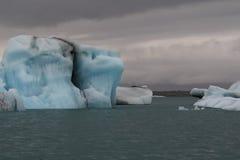 Glazial- Eisberg Lizenzfreies Stockbild