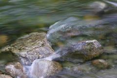 Glazial- Fluss lizenzfreies stockbild