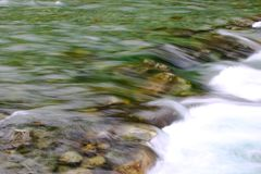 Glazial- Fluss stockbilder