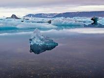 Glazial- Lagune Lizenzfreies Stockfoto