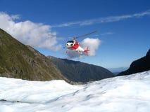 Glazial- Landung Stockfoto