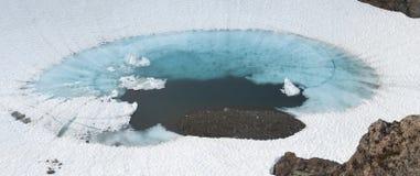 Glazial- Pool stockfoto