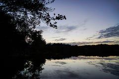 Glazig meer stock fotografie