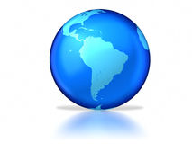 Glazige aarde Stock Afbeelding