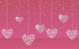 Glazige harten Stock Afbeeldingen
