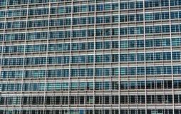 Glazing of the Berlaymont building, the seat of the European Com Stock Photos