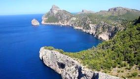 GLB DE Formentor, Mallorca stock videobeelden