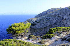 GLB DE Formentor op Mallorca, Spanje Stock Foto