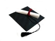 GLB en diploma Royalty-vrije Stock Afbeeldingen