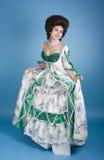 Glücklich über das Kleid Lizenzfreie Stockfotografie