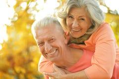 Glückliche alte Leute Stockfotos