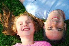 Glückliche Familie Lizenzfreies Stockbild