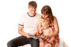 Glückliche Familie zusammen. Lizenzfreie Stockfotografie