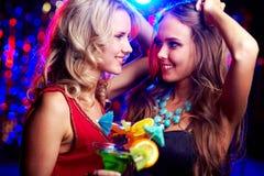 Glückliche Frauen Stockfoto