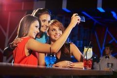 Glückliche Freunde Stockfotografie