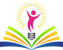 Glückliche helle Bildung Stockbild