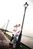 Glückliche junge Paare Lizenzfreies Stockfoto