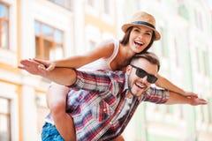 Glückliche liebevolle Paare Lizenzfreies Stockbild