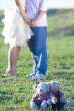 Glückliche reizende Paare Lizenzfreies Stockbild