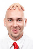 Glücklicher Chef Lizenzfreies Stockfoto