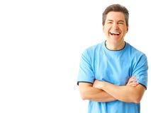 Glücklicher Mann Lizenzfreies Stockfoto