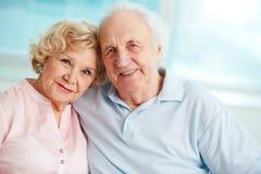 Glücklicher Ruhestand Stockbild