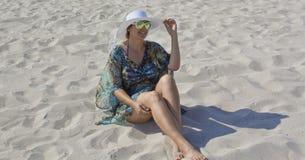 Glückliches Frauenportrait Lizenzfreies Stockbild