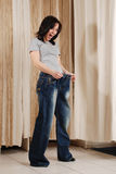 Glückliches junges Mädchen Lizenzfreies Stockfoto