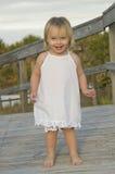 Glückliches Kleinkindmädchen Lizenzfreies Stockbild