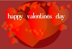 glückliches Valentine& x27; s Stockfoto