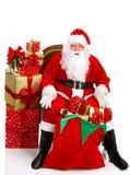 Glückliches Weihnachten Sankt Stockbilder