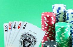 Glücksspiel Stockfoto