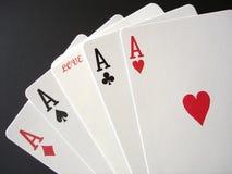 Glücksspiel auf Liebe Stockfoto