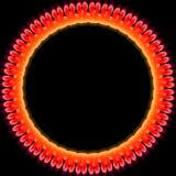 glödande cirkel Royaltyfri Foto