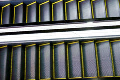 Gleam of automatic escalator. Very convenient Gleam of automatic escalator Royalty Free Stock Images