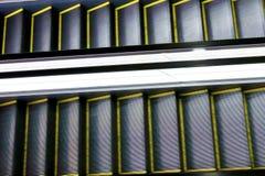 Gleam da escada rolante automática imagens de stock royalty free