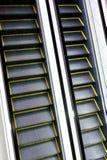 Gleam da escada rolante automática imagem de stock