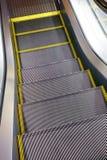 Gleam da escada rolante automática fotografia de stock royalty free