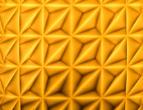 Gleaming background. Abstract gleaming yellow geometric background Royalty Free Stock Photography