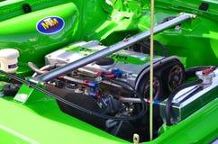 Gleamingsmotor van een auto Royalty-vrije Stock Afbeeldingen