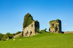 Gleaston Castle in Cumbria Stock Photos