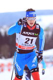 Gleb Retivykh - russian ski sprint skier Stock Photo