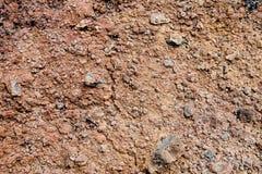 gleba wulkaniczna Obrazy Royalty Free