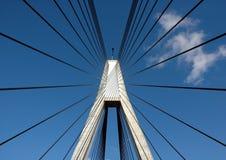 Glebe Insel-Brücke Stockfoto