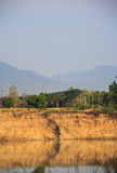 Glebowa erozja Fotografia Royalty Free